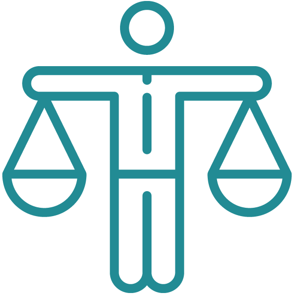 Equality icon for why clean water page